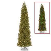 9 ft. Downswept Douglas Pencil Slim Fir Tree with Dual Color® LED Lights