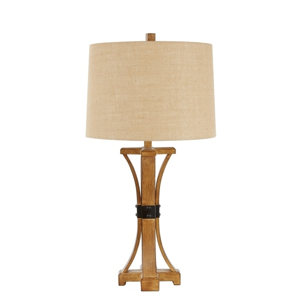Liam Banded Table Lamp