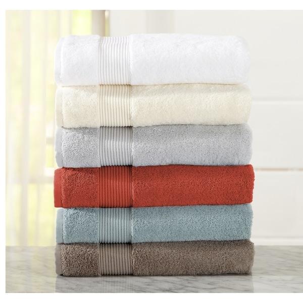 25cda6fa16 Home Fashion Designs Melanie Collection 6-Piece 100% Turkish Cotton Towel  Set