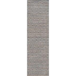 """Momeni Bengal Grey Jute Flatweave Area Runner Rug - 2'3"""" x 8' Runner"""
