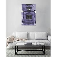 Oliver Gal 'Infinite Glam Amethyst' Canvas Art