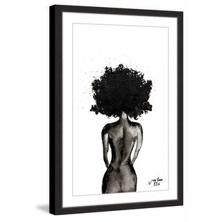 Link to Marmont Hill - Handmade Black Beauty II Framed Print Similar Items in Art Prints