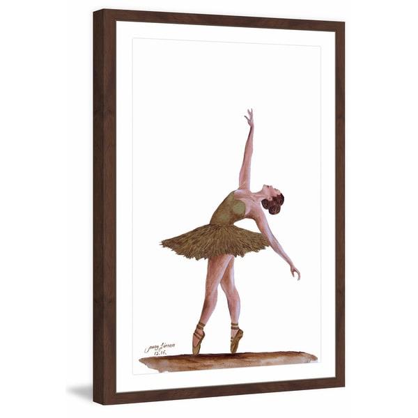 'La Fin' Framed Painting Print