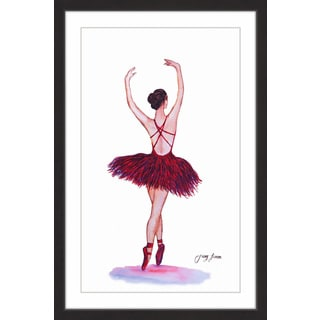 'On Point II' Framed Painting Print