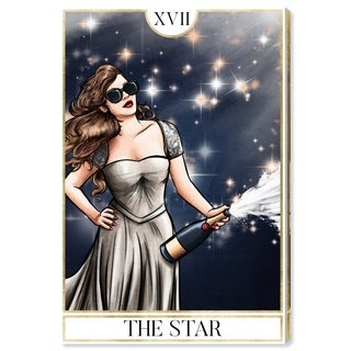 Oliver Gal 'The Star' Canvas Art