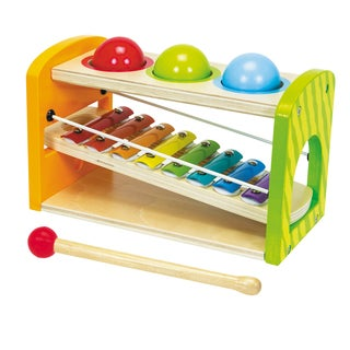 Eichhorn Color Wooden Xylophone Hammering Bench