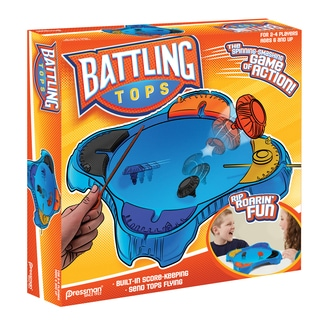 Pressman Toy Battling Tops Game