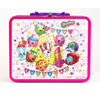 Pressman Toy Shopkins 100 Piece Puzzle in Lunchbox Tin