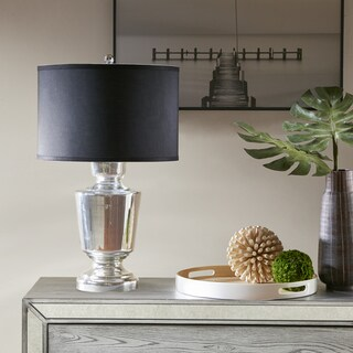 Madison Park Fin Silver Table Lamp