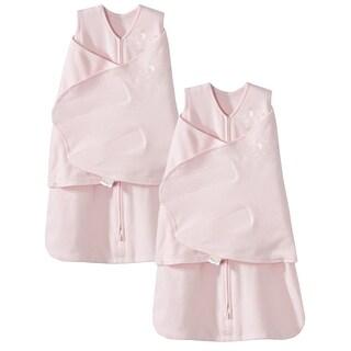 HALO SleepSack 100% Cotton Swaddle - Pink - Small - 2-Pack