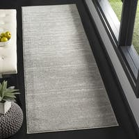 Safavieh Adirondack Vintage Light Grey/ Grey Rug - 2'6 x 10'