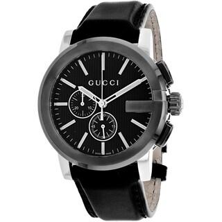 Gucci Men's YA101205 G-Chrono Watches