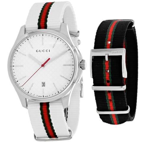 Gucci Men's YA126323 G-Timeless Watches