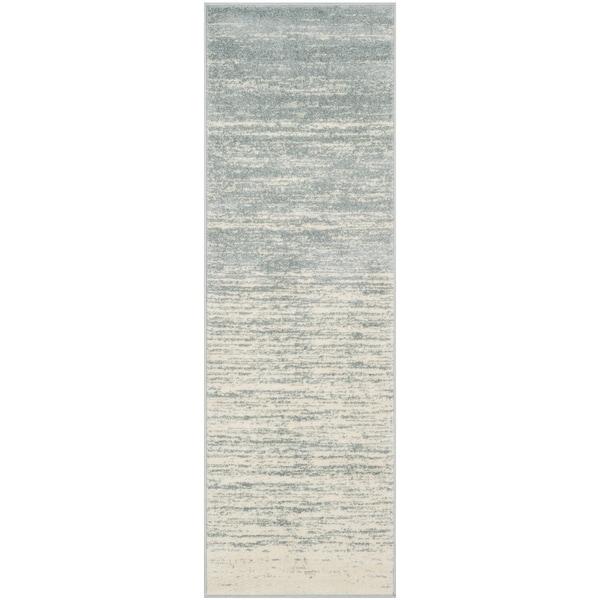 Safavieh Adirondack Vintage Slate/ Cream Rug - 2'6 x 6'