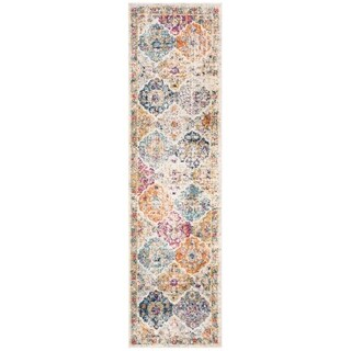Safavieh Madison Cream/ Multi Rug - 2'3 x 18'