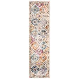 Safavieh Madison Cream/ Multi Rug (2'3 x 20')