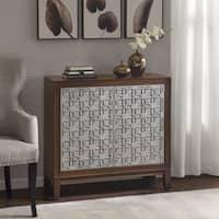 Madison Park Ashbury Brown/ Antique Silver 2-Door Cabinet