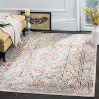 Safavieh Aria Cream/ Blue Rug - 5'1 x 7'6