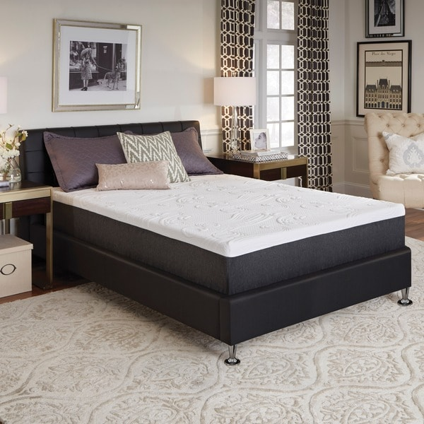 ComforPedic from Beautyrest 14-inch California King-size NRGel Memory Foam Mattress