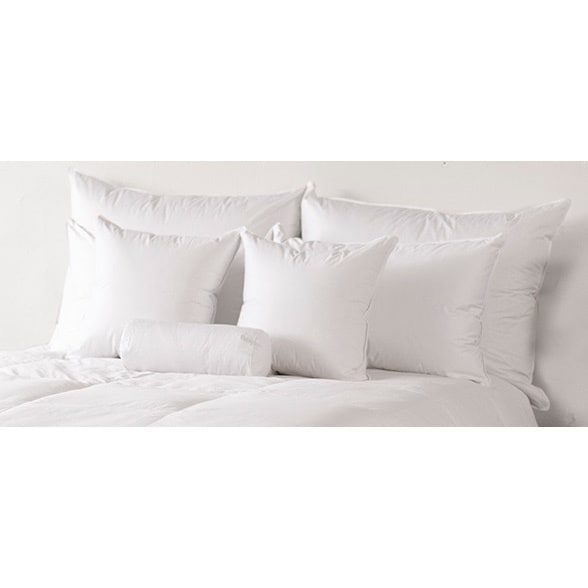 Responsibly Sourced & Eco-Friendly, Traditional 600 White Down Medium Pillow