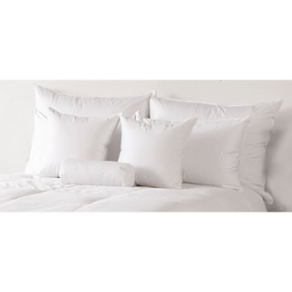 Traditional 600-Fill White Down Medium Pillow - N/A