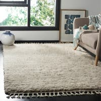 Safavieh Hand-Knotted Casablanca Grey Wool Rug - 5' x 8'