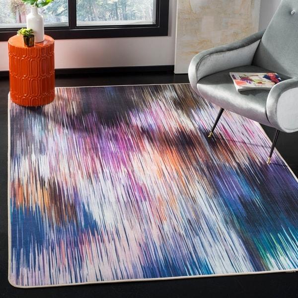 Safavieh Daytona Karan Graphic Abstract Washable Rug