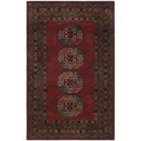 Safavieh Handmade Heritage Red Wool Rug - 5' x 8'