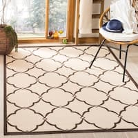 Shop Safavieh Indoor Outdoor Amherst Light Grey Beige