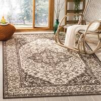 Safavieh Linden Natural/ Brown Rug - 5'1 x 7'6