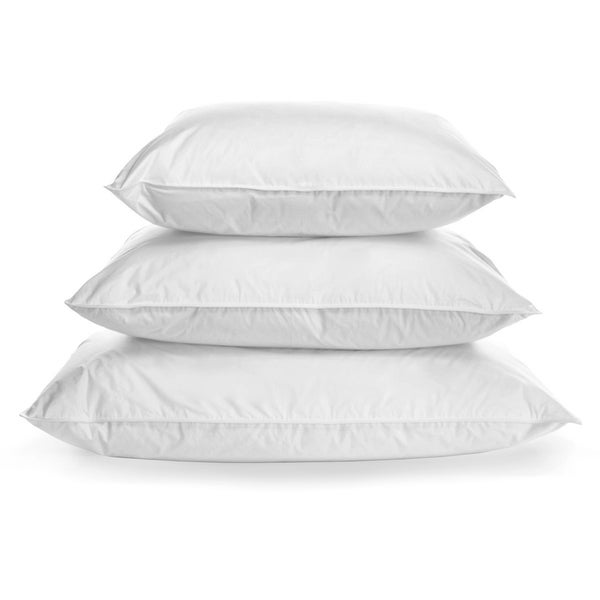 700-Fill, Firm Milkweed Blend Pillow for Healthier Sleeping