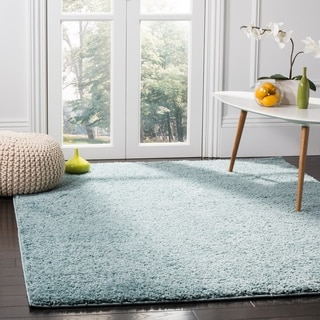Safavieh New York Shag Ivory Rug (5'1 x 7'6)