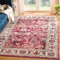 Safavieh Savannah Vintage Oriental Pink/ Grey Rug (5'1 x 7'6)