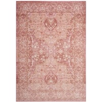 Safavieh Windsor Rose/ Red Cotton Rug (5' x 7')