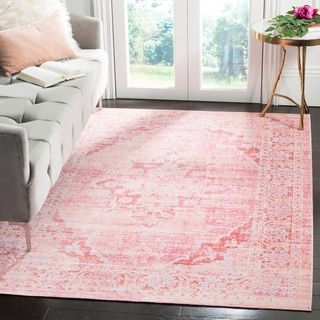 Safavieh Windsor Jackie Shabby Chic Oriental Polyester Rug