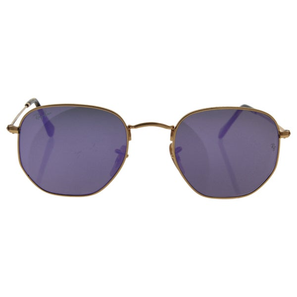 Ray-Ban RB3548N Sonnenbrille Gold 001 54mm Xc9Lhtb