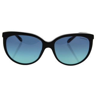 Tiffany & Co TF 4097 8001/9S - Women's Black/Blue Gradient Sunglasses