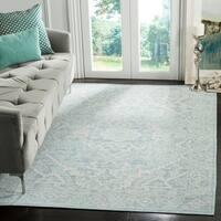 Safavieh Windsor Seafoam/ Blue Cotton Rug - 5' x 7'