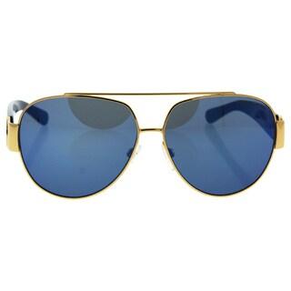 Michael Kors MK 5012 106955 Tabitha II - Women's Gold Blue Glitter/Blue Sunglasses