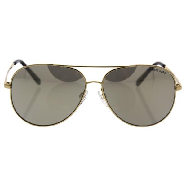 060ad34fb8e52 Shop Michael Kors MK 5016 10245A Kendall I - Unisex Gold Sunglasses ...