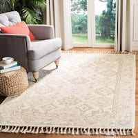 Safavieh Handmade Aspen Bohemian Light Grey/ Grey Wool Rug - 8' x 10'