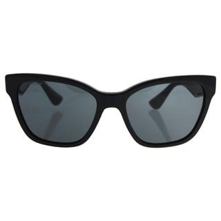 Miu Miu MU 06R 1AB-1A1 - Women's Black/Grey Sunglasses
