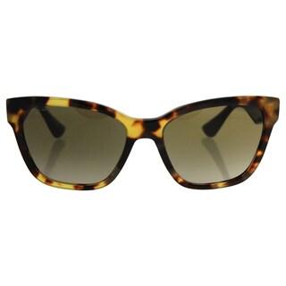 Miu Miu MU 06R 7S0-1X1 - Women's Light Havana/Brown Gradient Sunglasses