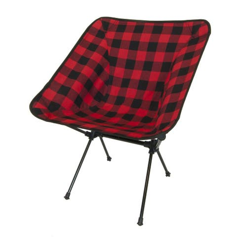 Travelchair C-Series Joey Camp Chair - Buffalo Plaid