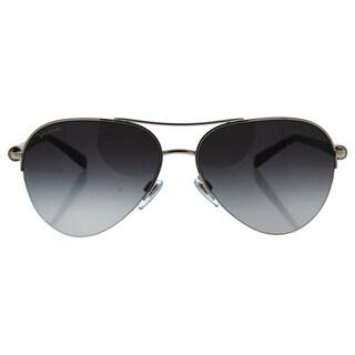 Bvlgari BV6084 102/8G - Women's Silver/Grey Sunglasses