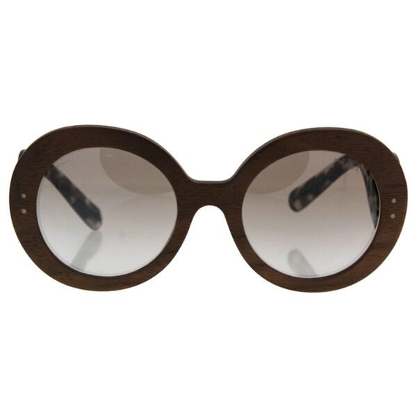 16e16e14390a ... get prada womenx27s nut canaletto frame brown lens sunglasses 8109e  f5d65