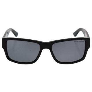 Polo Ralph Lauren PH 4061 5001/81 - Men's Matte Black Polarized Sunglasses|https://ak1.ostkcdn.com/images/products/17335035/P23580054.jpg?_ostk_perf_=percv&impolicy=medium