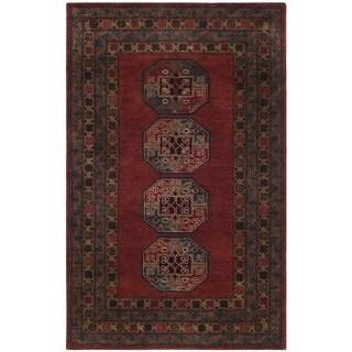 Safavieh Handmade Heritage Red Wool Rug (8' x 10')