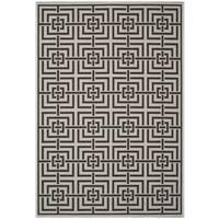 Safavieh Linden Light Grey/ Charcoal Rug - 9' x 12'