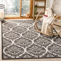 Safavieh Linden Light Grey/ Charcoal Rug - 8' x 10'